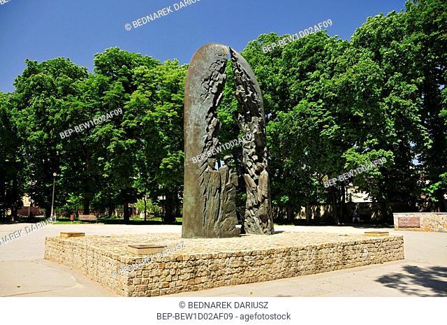 Monument to the Home Army. Kielce, Swietokrzyskie Voivodeship, Poland