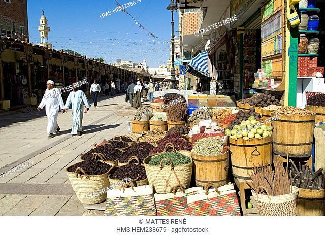 Egypt, Upper Egypt, Nubia, Nile Valley, Aswan, souk