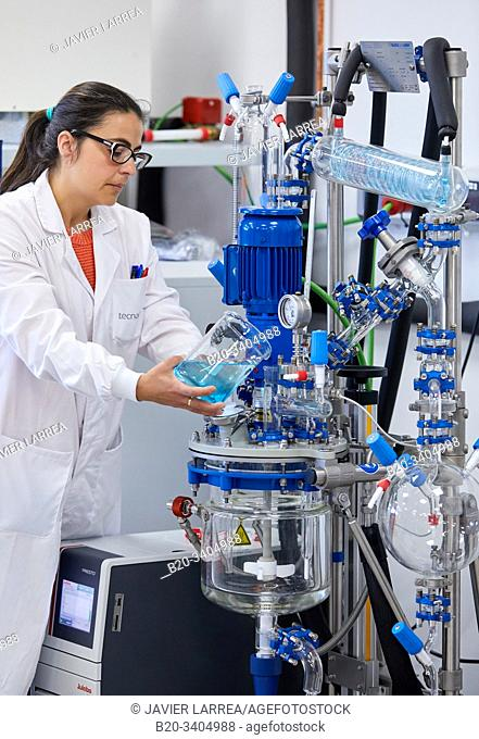 Minipilot, Glass Reactor, Pilot Plant equipment, Biotechnology Laboratory, Food industry, Unit of Health, Technology Centre, Tecnalia Research & Innovation