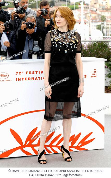Emily Beecham at the 'Little Joe' photocall during the 72nd Cannes Film Festival at the Palais des Festivals on May 18, 2019 in Cannes, France | usage worldwide