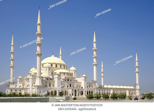 New Sheikh Zayed Mosque nearing completion in Fujairah United Arab Emirates