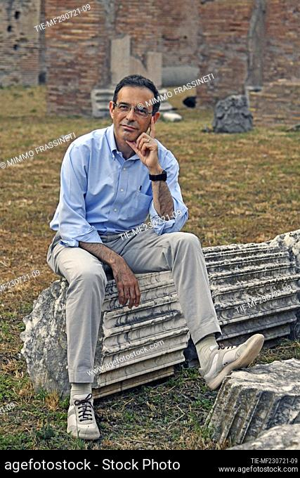 The theologian Vito Mancuso at the 20th International Literatures Festival of Rome , Rome, ITALY-23-07-2021
