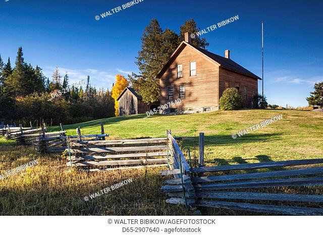 USA, New York, Adirondack Mountains, Lake Placid, John Brown Farm, former home of US abolitionist, John Brown