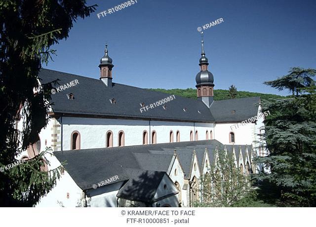 Abbey Eberbach in Reihngau, Germany