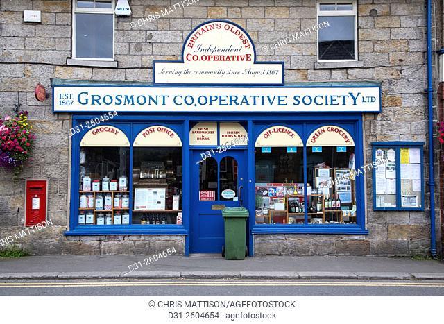 Grosmont Co-operative Society shop, Yorkshire