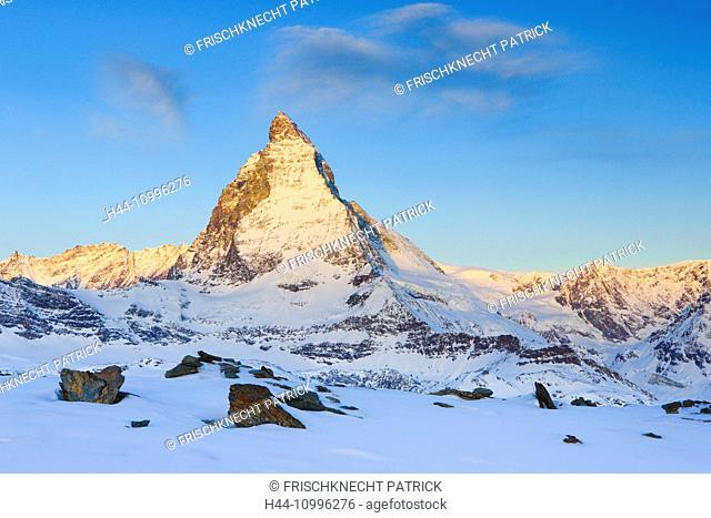 Matterhorn - 4478 ms, Zermatt, Valais, Switzerland