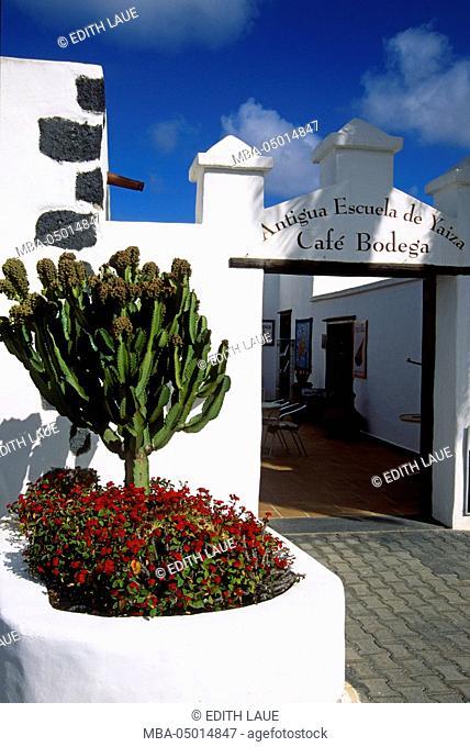 Yaiza, entrance, craft centre