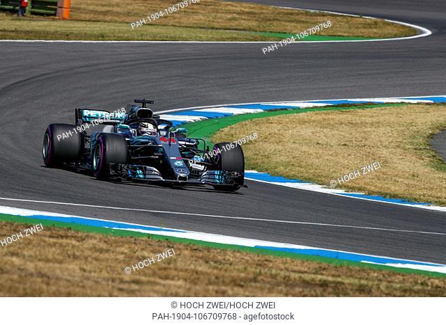Motorsports: FIA Formula One World Championship 2018, Grand Prix of Germany, .#44 Lewis Hamilton (GBR, Mercedes AMG Petronas Motorsport), 20.07.2018