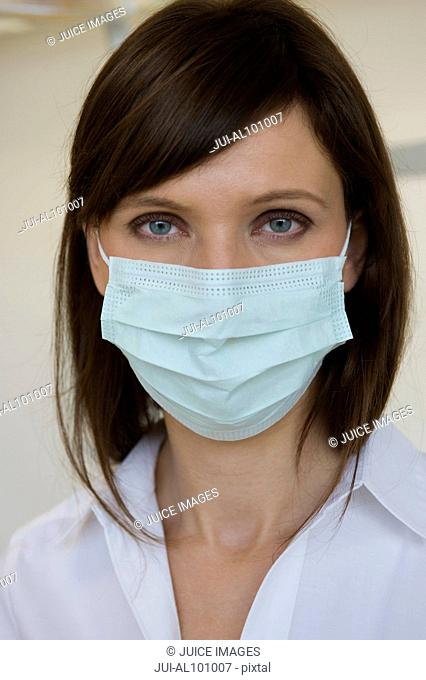 Nurse in surgical mask