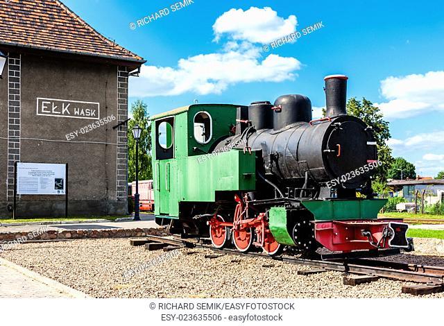 narrow gauge railway, Elk, Warmian-Masurian Voivodeship, Poland