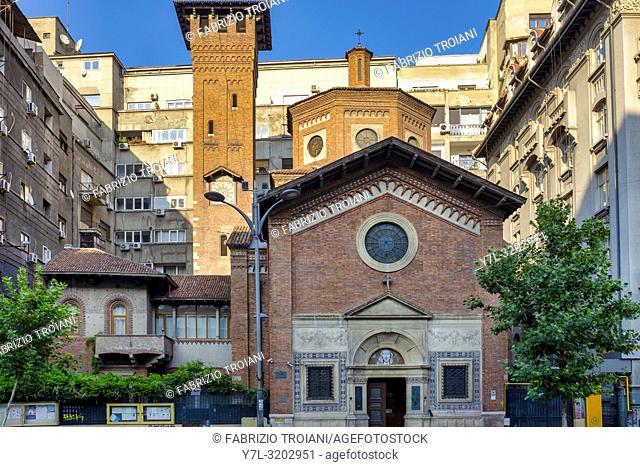 Italian Church of the Most Holy Redeemer, Bucharest, Romania
