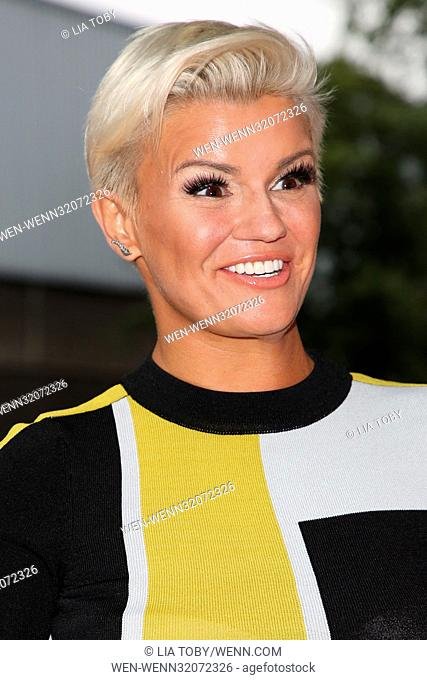 Ester Dee All About the Beach launch party - Arrivals Featuring: Kerry Katona Where: London, United Kingdom When: 02 Aug 2017 Credit: Lia Toby/WENN