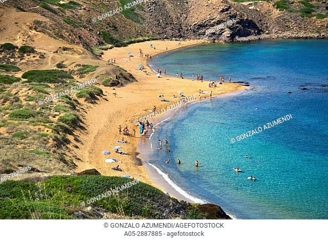 Cavalleria Beaches. Menorca. Minorca. Islas Baleares. Balearic Islands. Spain