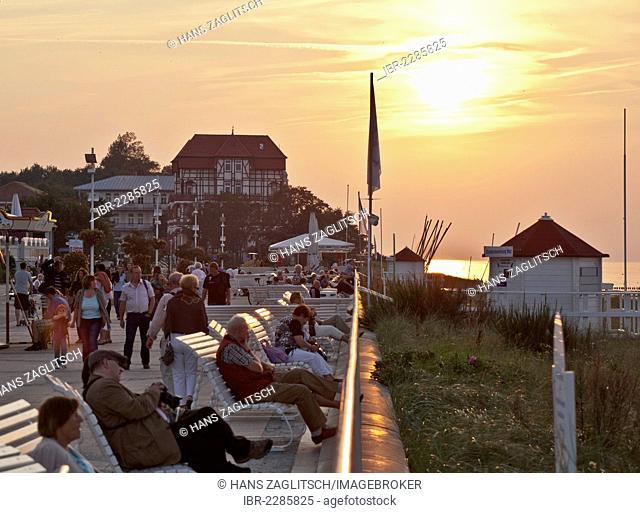 Kuehlungsborn, Mecklenburg-Western Pomerania, Germany, Europe