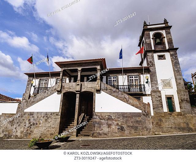 Town Hall, Praia da Vitoria, Terceira Island, Azores, Portugal