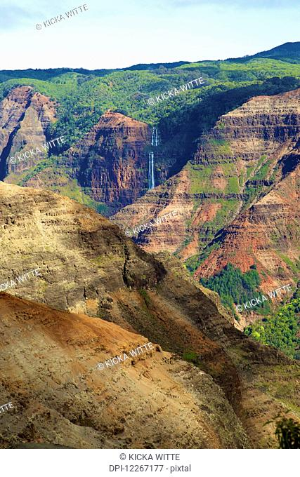 Waimea Canyon; Kauai, Hawaii, United States of America