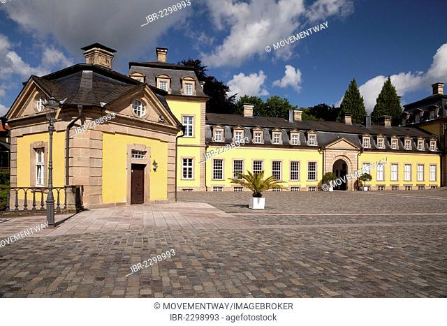 Arolsen Castle, Bad Arolsen, Waldecker Land region, Hesse, Germany, Europe