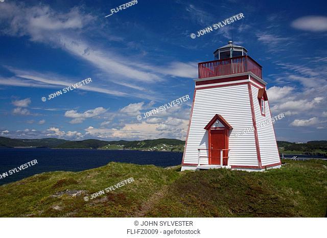 Trinity harbour lighthouse, Newfoundland and Labrador