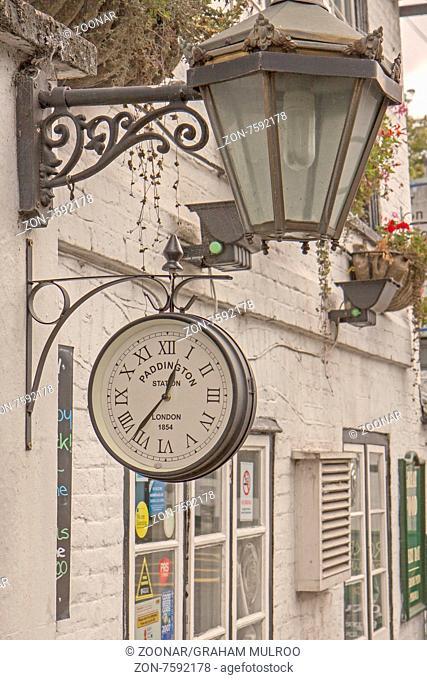 UK Berkshire Paddington Station Clock