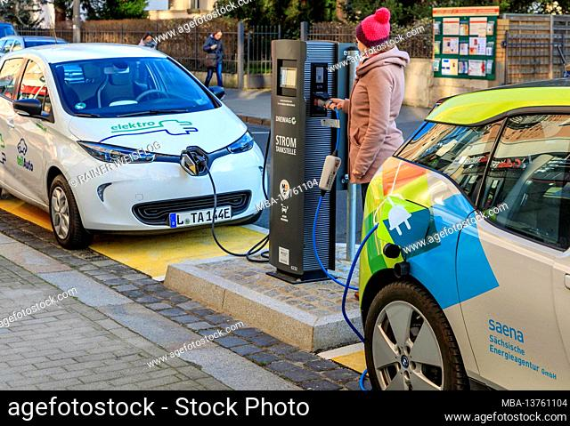 MOBIpunkt with fast charging station: Saxony's state capital Dresden wants to become a model city for electromobility