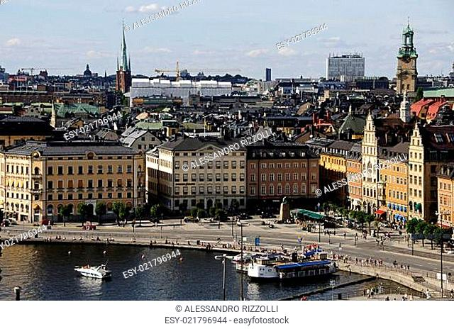 Stockholm old town (Gamla stan), Sweden