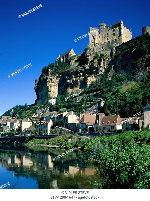 Beynac, Castle, Chateau, Dordogne, France, Europe, Holiday, Home, Lake, Landmark, Residential, Tourism, Travel, Vacation