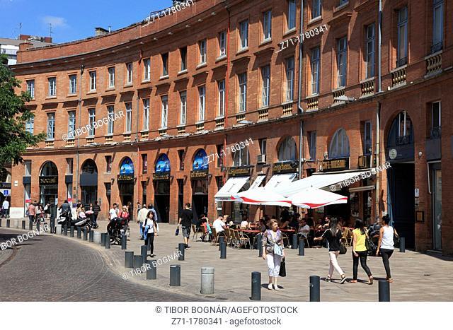 France, Midi-Pyrénées, Toulouse, Place Wilson