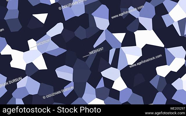 colorful geometrical shapes figures intertwining on abstract tissue creative graphic ultra high resolution 3D illustration background texture elements copy...