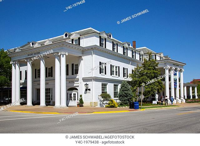 Boone Travern Hotel of Berea College in Berea Kentucky