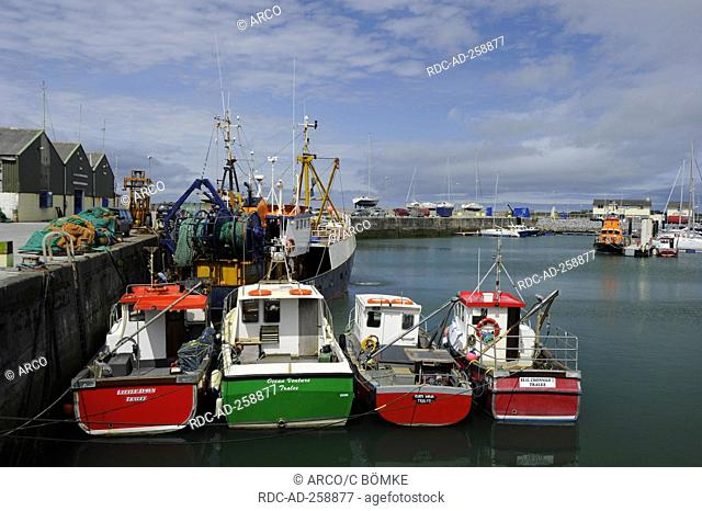 Fishing harbour Fenit Tralee County Kerry Ireland