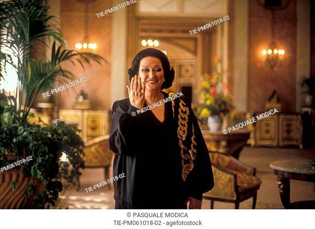1992 Rome, María de Montserrat Viviana Concepcion Caballé i Folch was a Spanish soprano