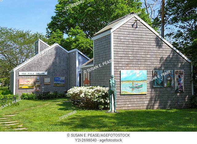 The Field Gallery, West Tisbury, Martha's Vineyard, Massachusetts, United States, North America