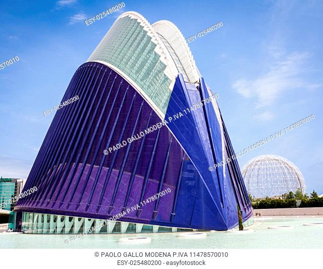 The City of Arts and Sciences of Valencia, Spain