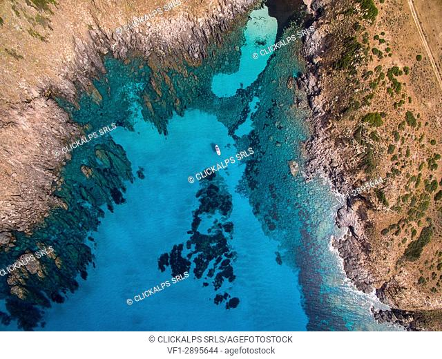 Asinara island, Porto Torres, Sassari province, sardinia, italy, europe