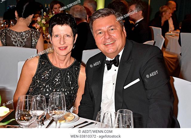 68th VBKI Ball der Wirtschaft at Hotel InterConti Berlin Featuring: Anke Geisel, Andreas Geisel Where: Berlin, Germany When: 24 Feb 2018 Credit: AEDT/WENN