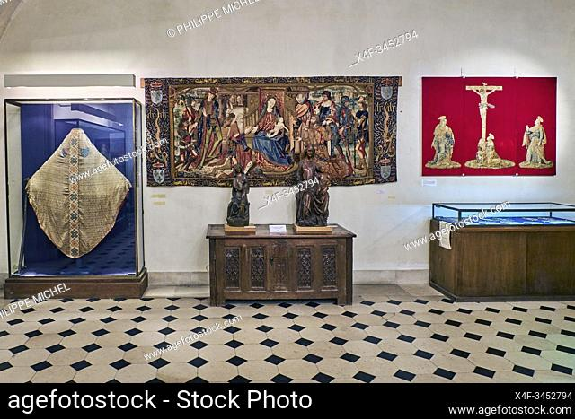 France, Burgundy, Yonne, Sens, museum, Treasury of the Cathedral