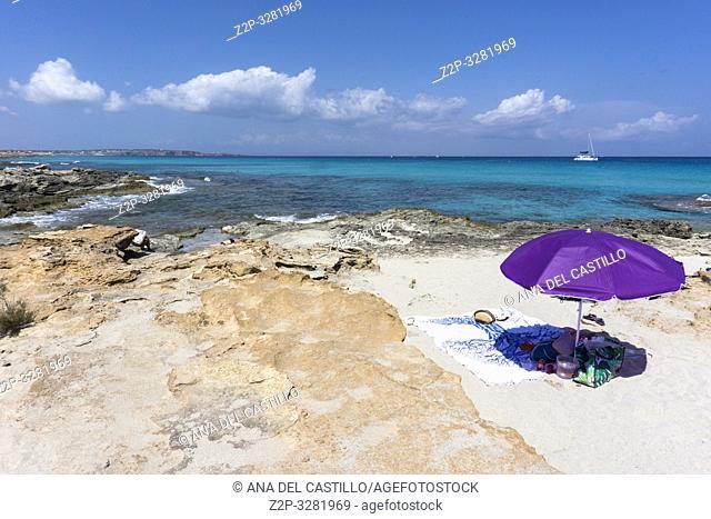 Beach, Formenter, Balearic Islands, Spain