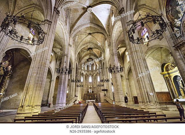 Santa Maria Cathedral. Tortosa. 1597. Gothic and baroque. Presbytery