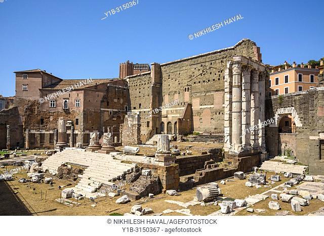 Forum of Augustus, Foro di Augusto, Rome, Italy