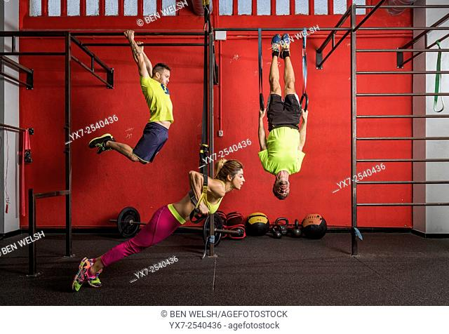 Cross fit training