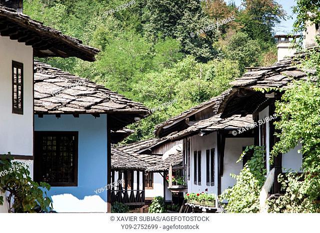 Houses, Etar, Architectural-еthnographic complex, Gabrovo, Bulgaria