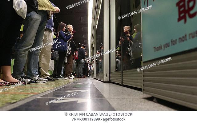 MTR, Hong Kong, China, East Asia