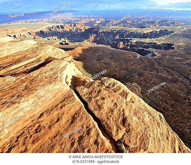Grand View Point, Canyonlands National Park, Moab, Utah
