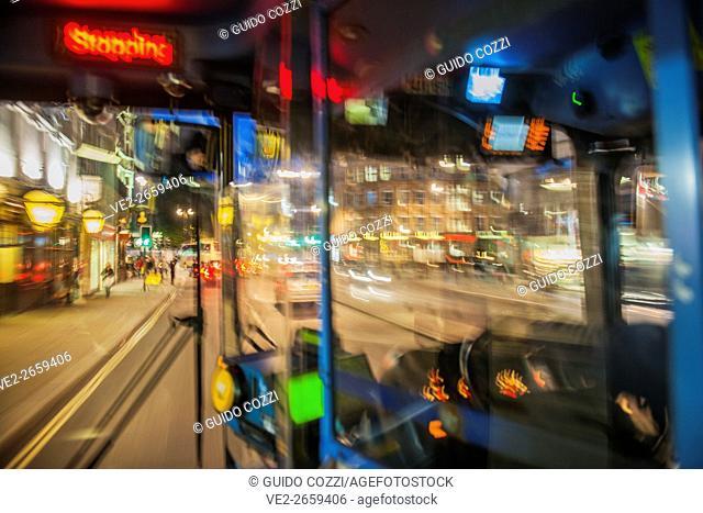 United Kingdom, England, London. Fleet street