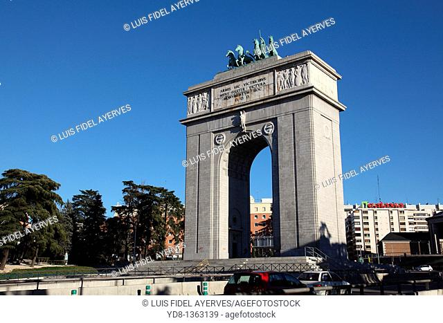 Monument, Mocloa, Madrid, Spain