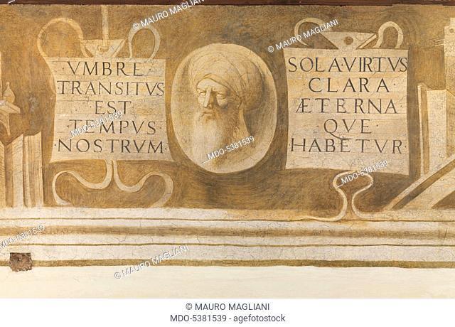 The Liberal and Mechanical Arts, by Giorgio da Castelfranco known as Giorgione, 16th Century, 1500-1505, fresco