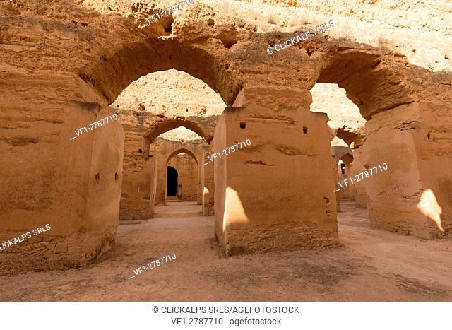 North Africa, Morocco, Meknes district, Aqueduct
