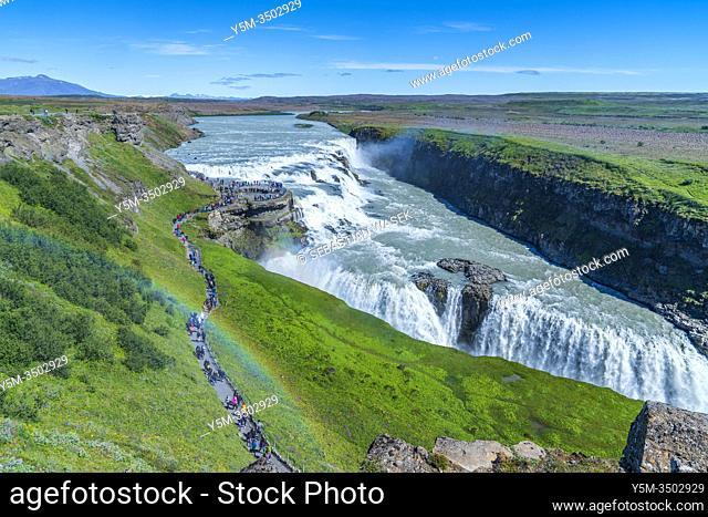 Gullfoss, Southern Region, Iceland
