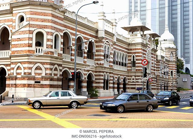 Malaysia, Kuala Lumpur, Mederka, sultan Abdul Samal palace