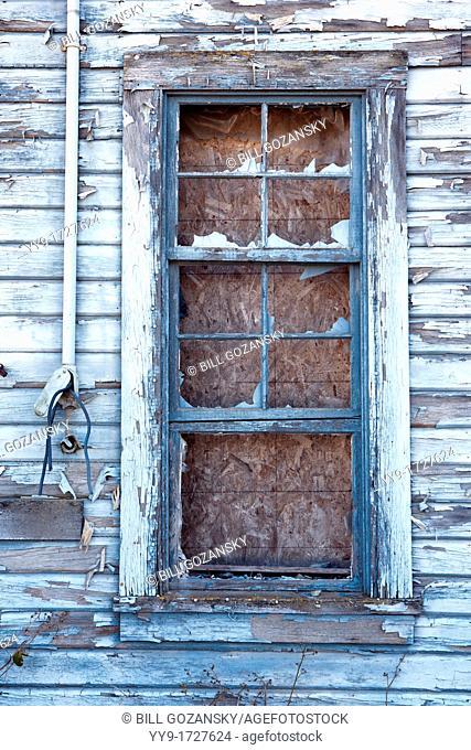 Broken Windows - La Conner, Washington USA